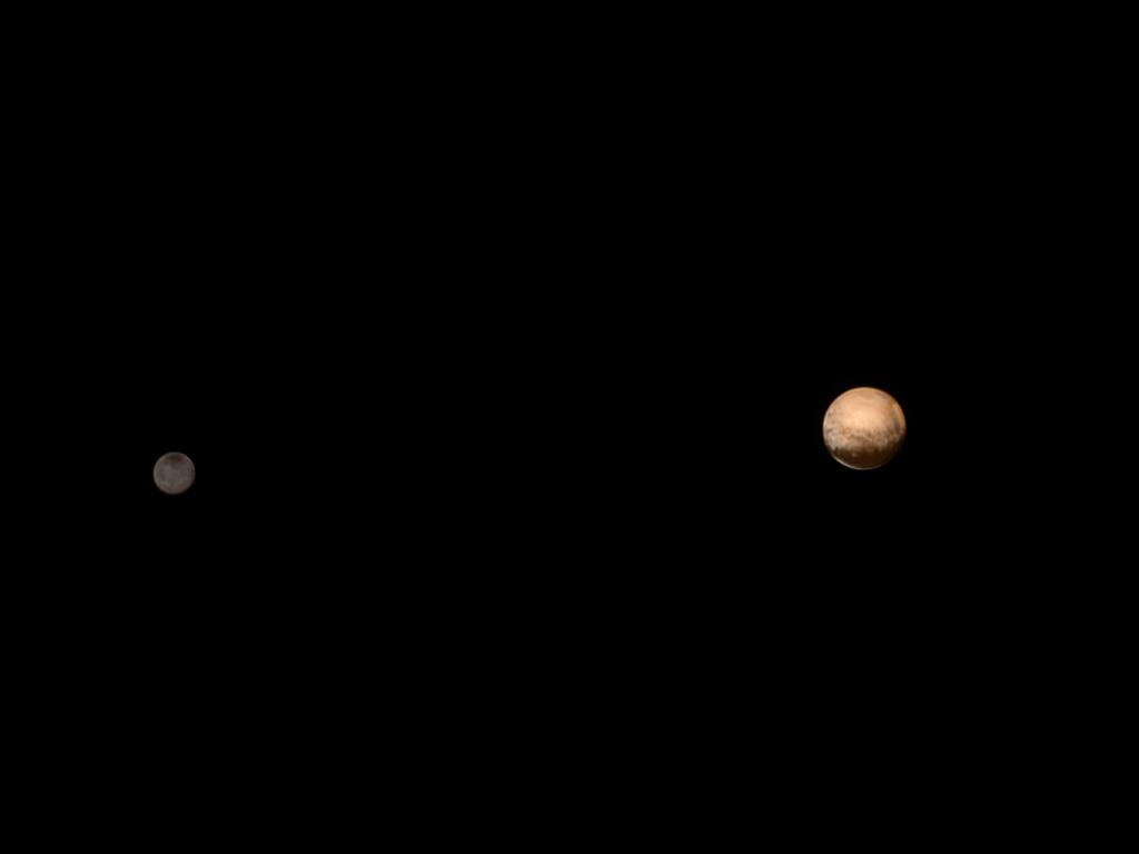 Pluto & Charon (NASA/JPL)